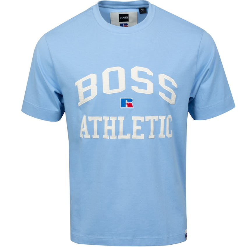 x Russell Athletic T-Shirt Open Blue