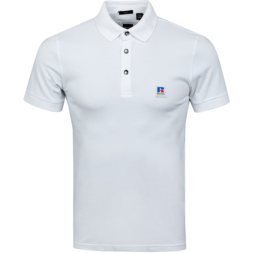 x Russell Athletic Petroc Polo Shirt White
