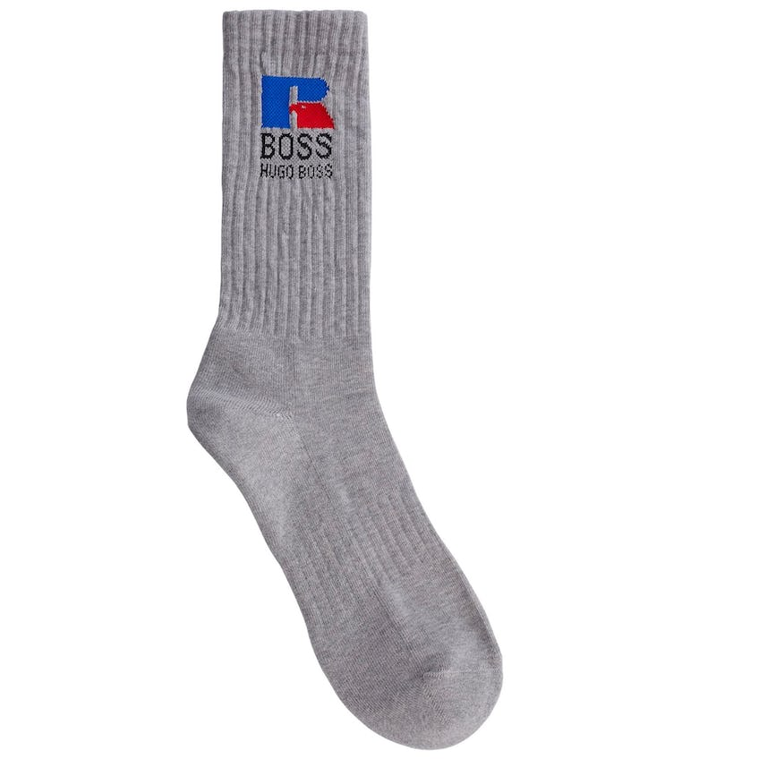 x Russell Athletic Crew Sock Silver
