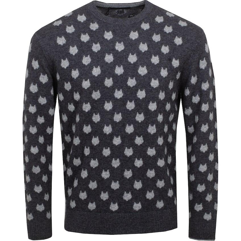 Wolfden Crewneck Sweater Dark Grey Heather