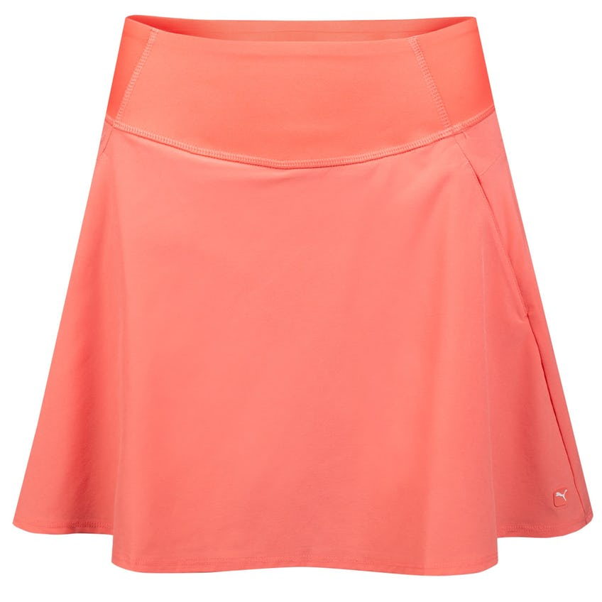 Womens PWRSHAPE Solid Woven Skirt Rose Pink 0
