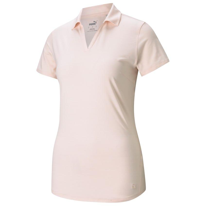 Womens Cloudspun Free Polo Shirt Cloud Rose Heather 0