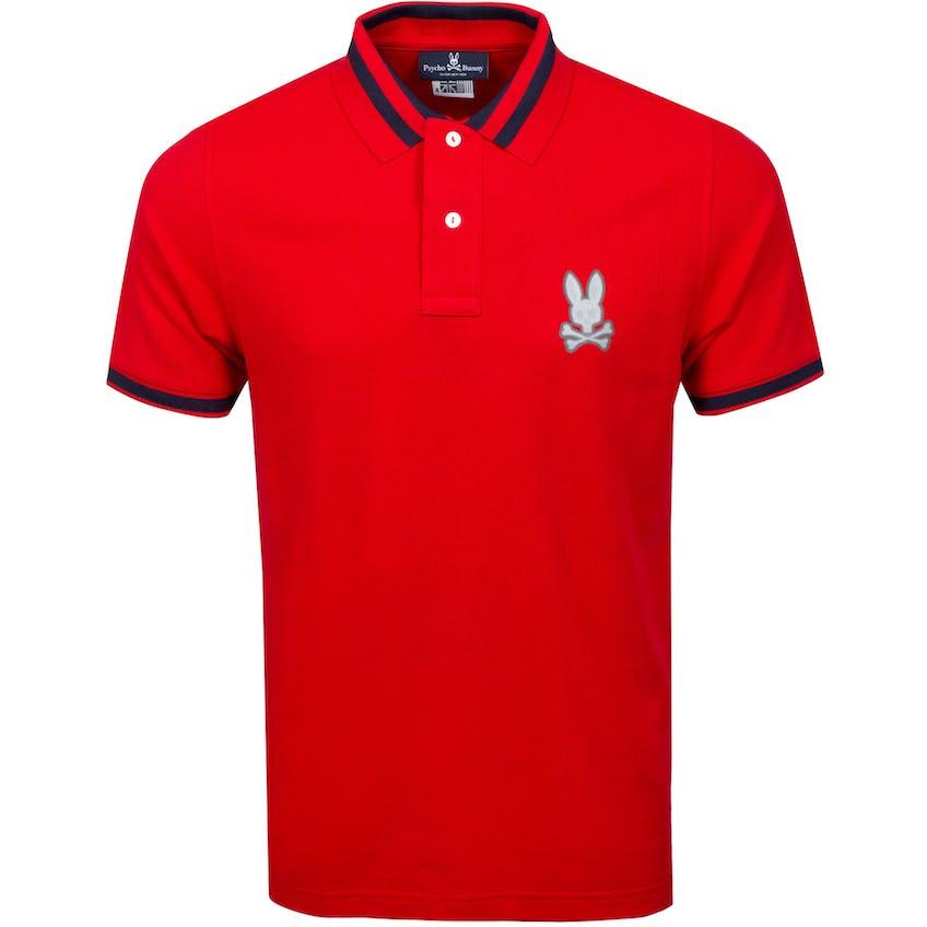 Rushup Polo Shirt British Red 0