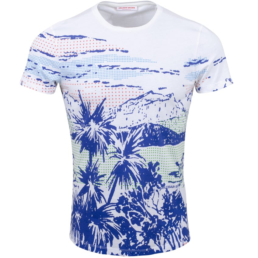 T-Shirt White/Skydiver/Navy 0
