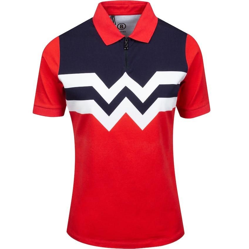 Mariana Polo Shirt Navy/White/Red 0