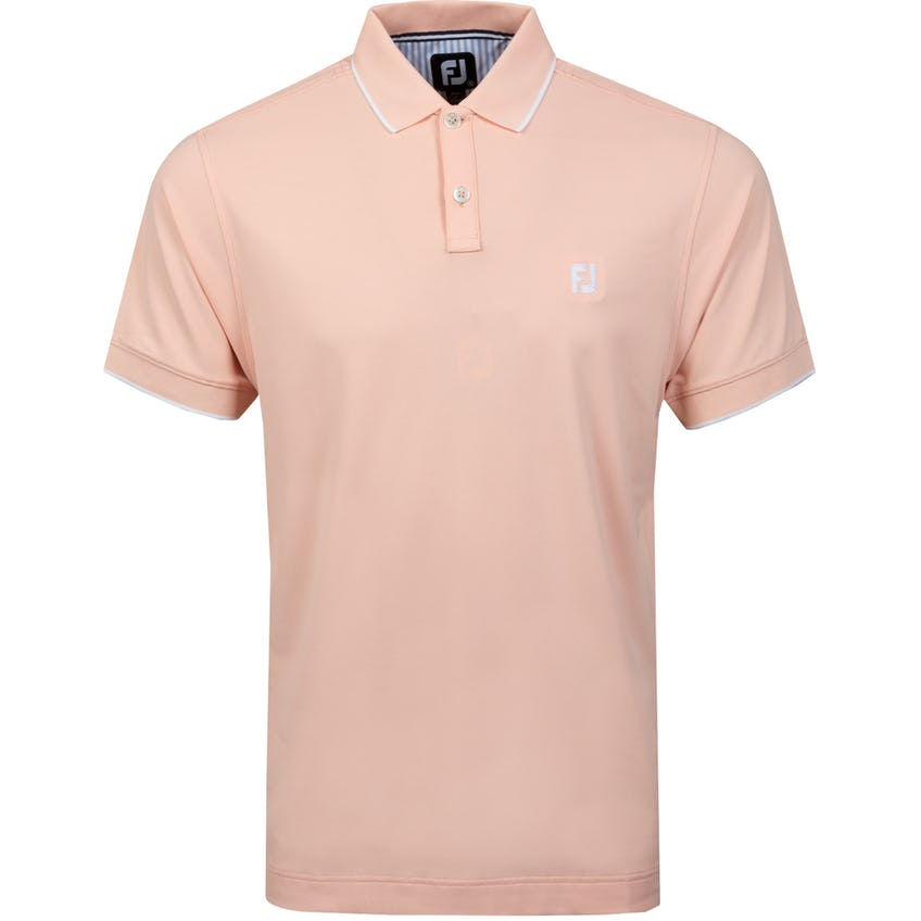Southern Living TC Solid Polo Shirt Peach 0