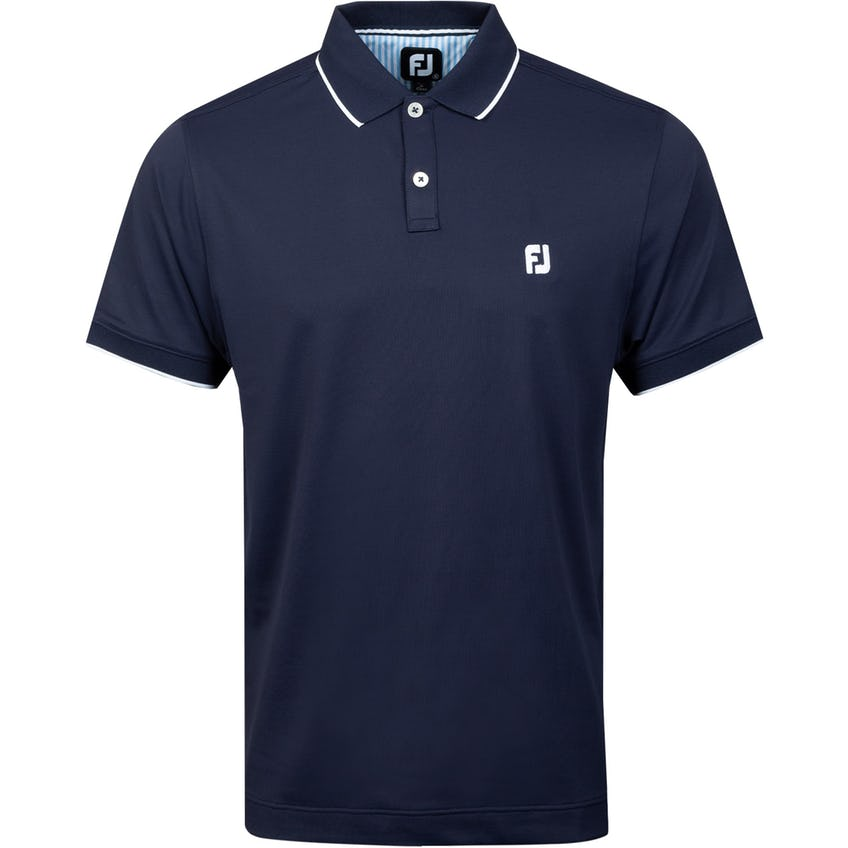Southern Living TC Solid Polo Shirt Navy 0