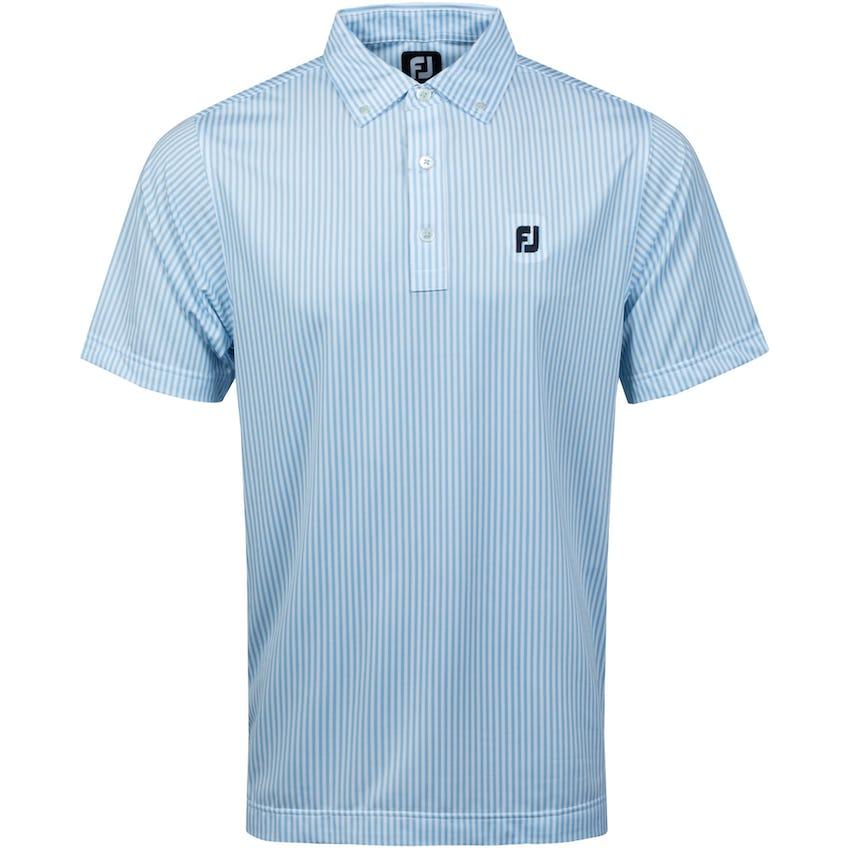 Southern Living TC Solid Polo Shirt Light Blue/White 0