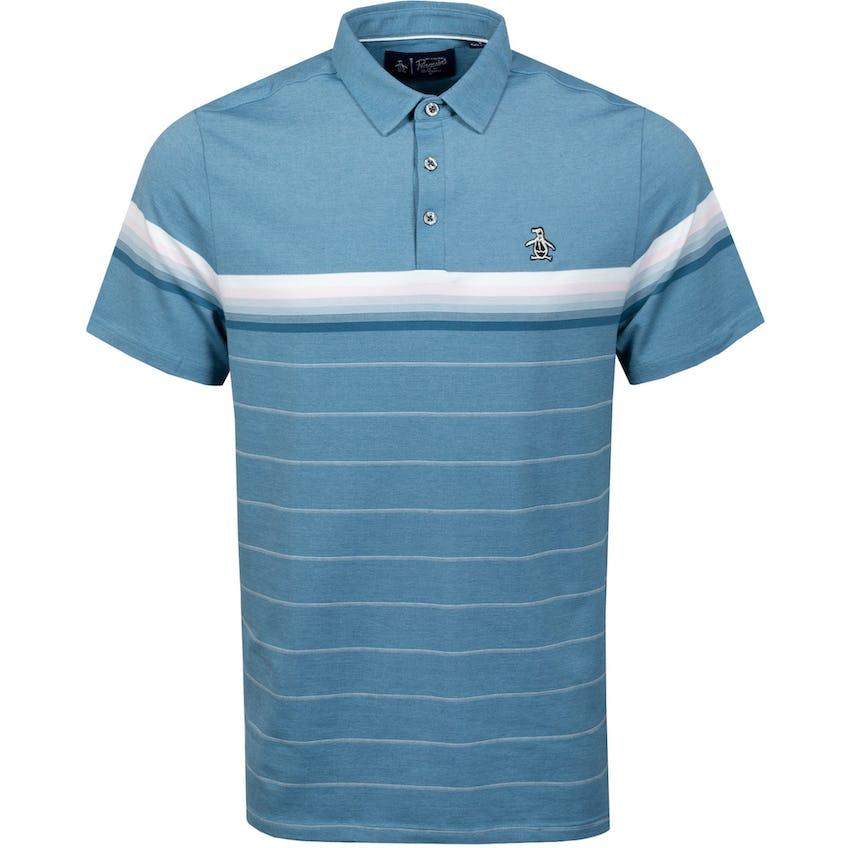 Energy Stripe Polo Shirt Real Teal 0