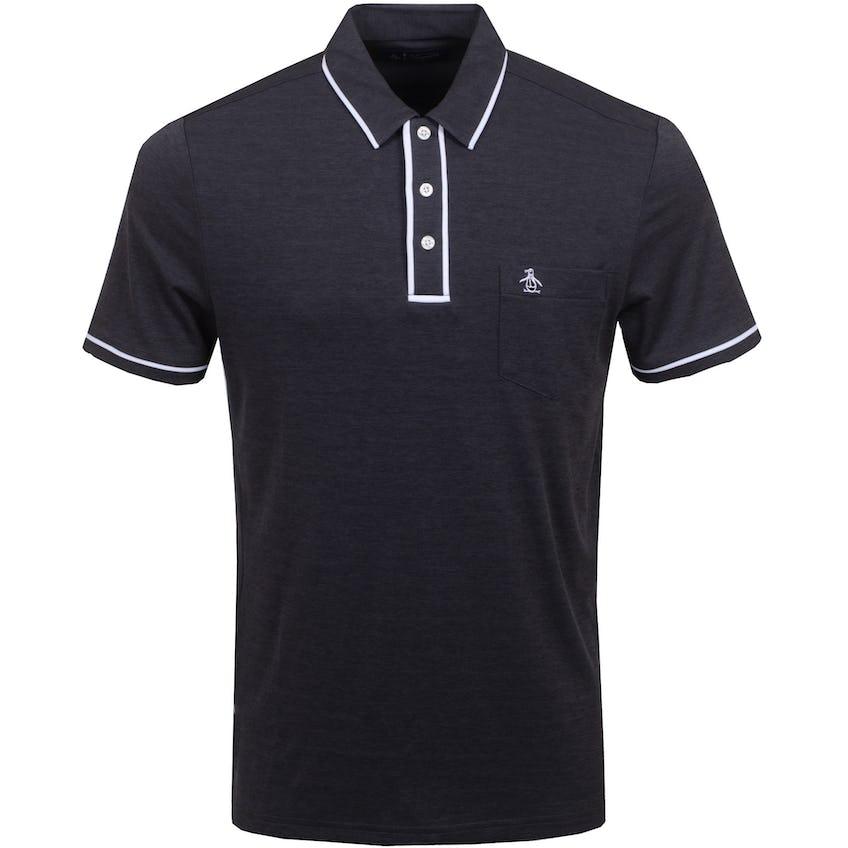 The Golfer Earl Polo Shirt Caviar 0