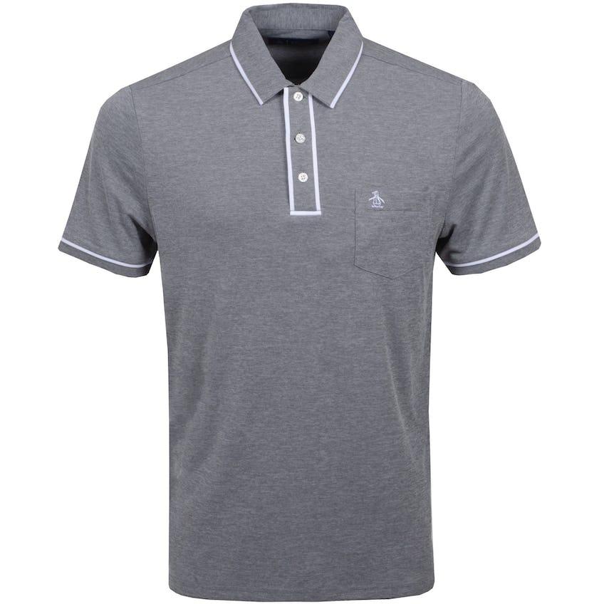 The Golfer Earl Polo Shirt Asphalt 0