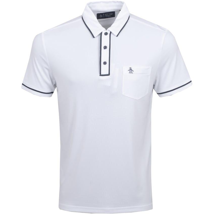 The Golfer Earl Polo Shirt Bright White 0