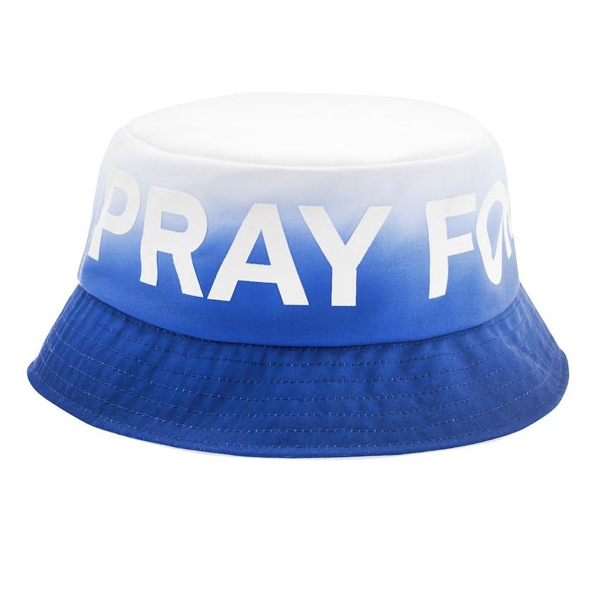 Ombre Pray for Birdies Bucket Hat Baja 0