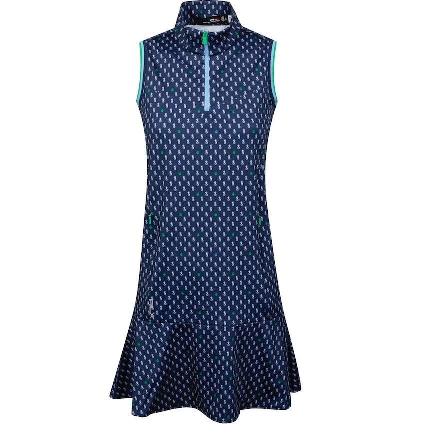 Womens Printed Jersey Dress Punchy Pineapple 0