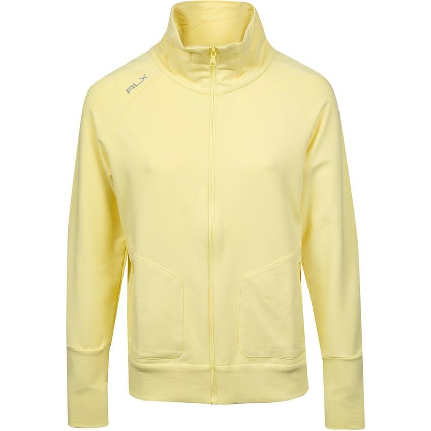 Womens Full Zip Spa Interlock Jacket Britol Yellow 0