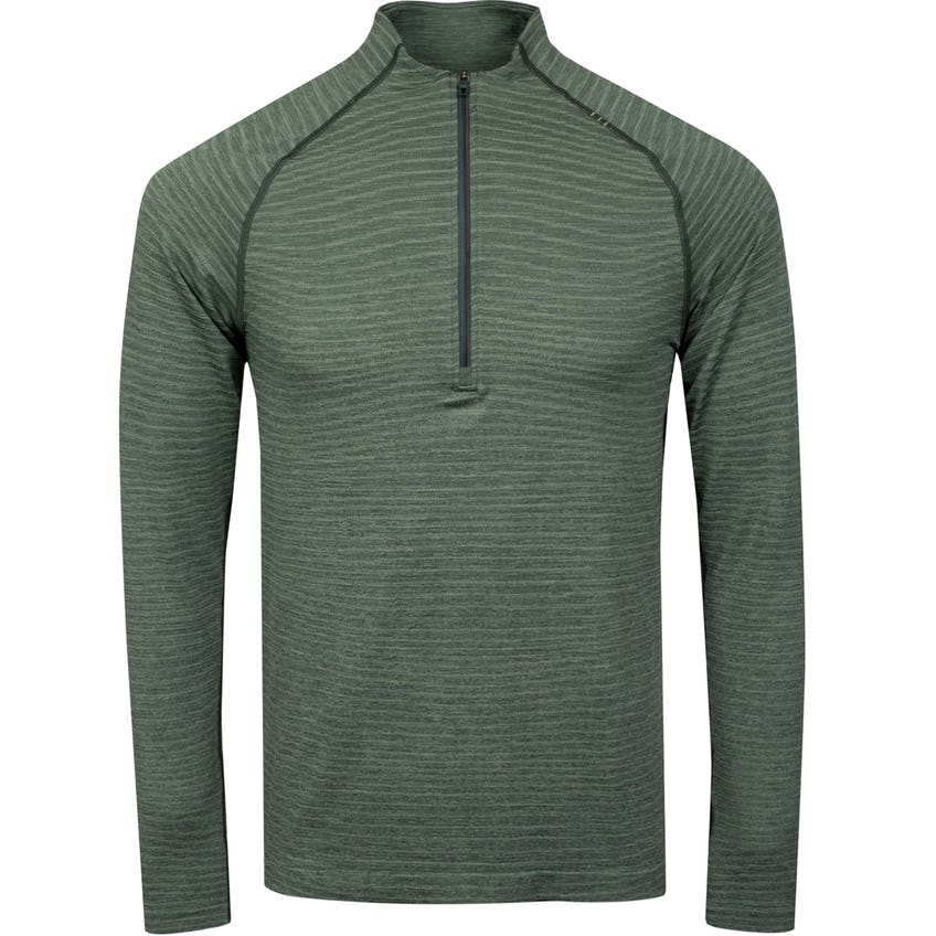 x TRENDYGOLF Metal Vent Tech Half Zip 2.0 Wave Fade Rosemary Green/Smoked Spruce - SS21 0