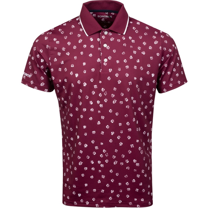 Justin Rose Performance Polo Slim Summer Roses - SS21 0