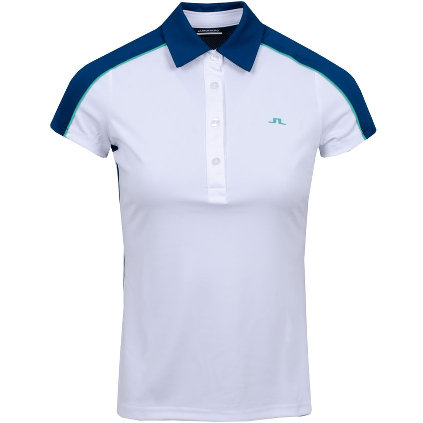 Womens Cicca Polo Shirt White 0