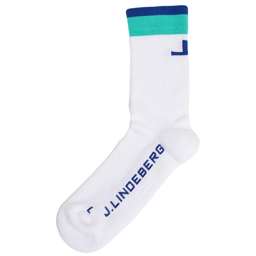 Womens Holly Golf Sock White 0