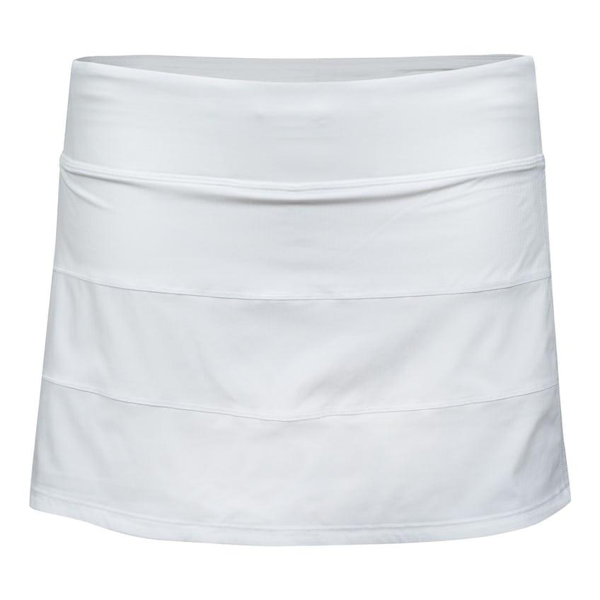"""x TRENDYGOLF Womens Pace Rival Skirt *Regular 13"""" White - SS21 0"""