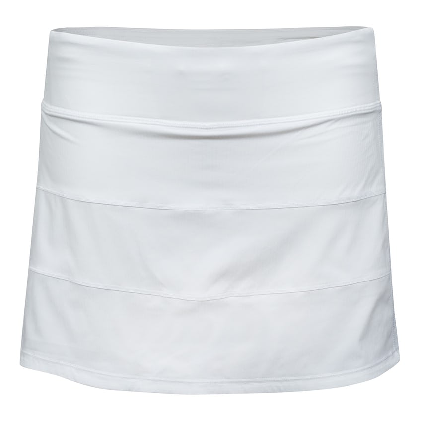 """x TRENDYGOLF Womens Pace Rival Skirt *Tall 15"""" White - SS21 0"""