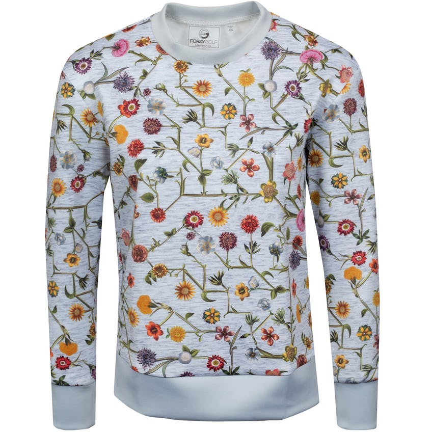Womens Connect Floral Layering Marl Grey 0