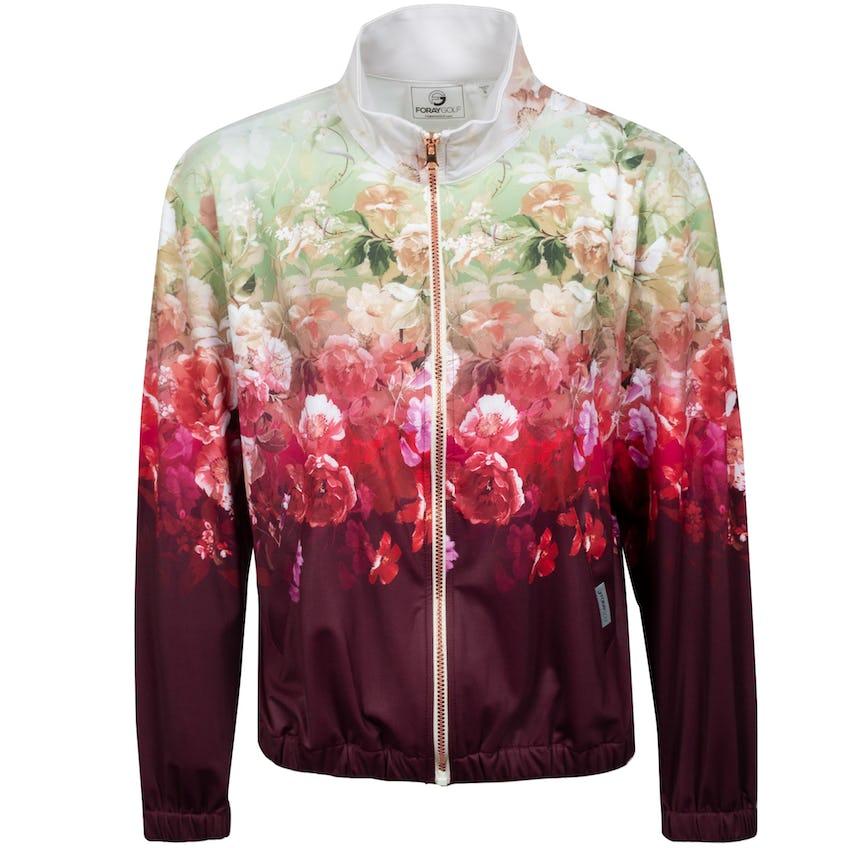 Womens Romantic Floral Track Jacket Multi 0