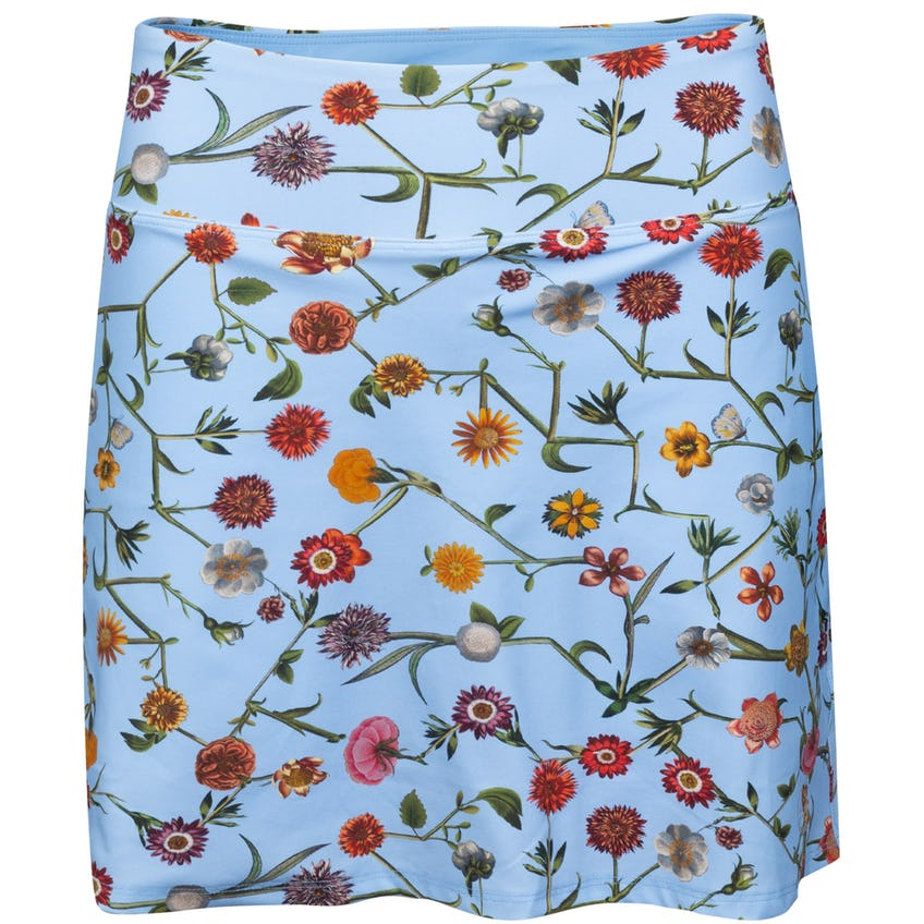 Womens Connect Floral Skirt Cielo Blue 0