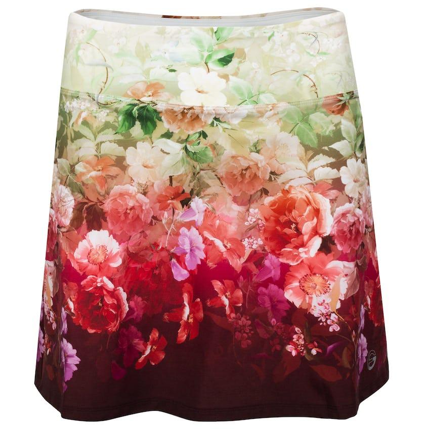 Womens Romantic Floral Skirt Multi 0