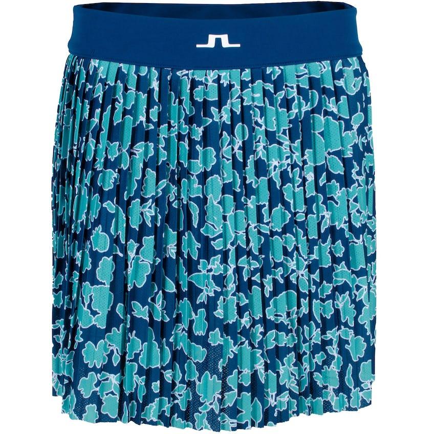 Womens Binx Printed Skirt Poseidon Floral 0