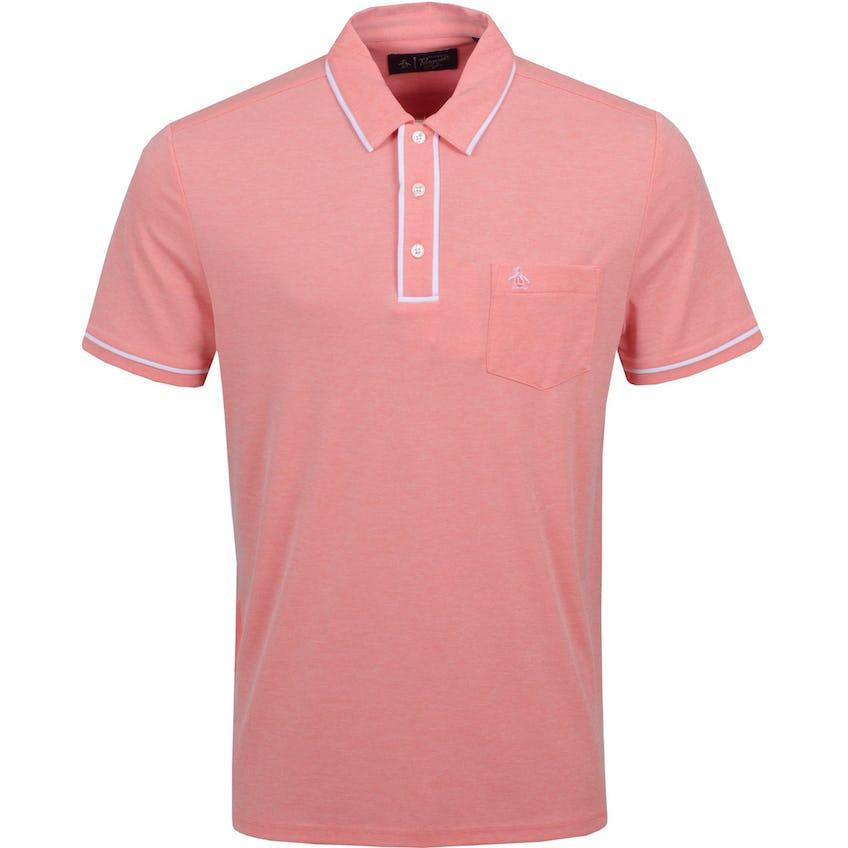 The Golfer Earl Polo Shirt Hot Coral 0
