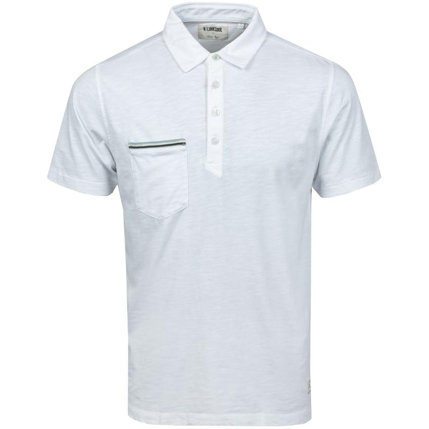 Hopper Knit Short Sleeve Polo White 0