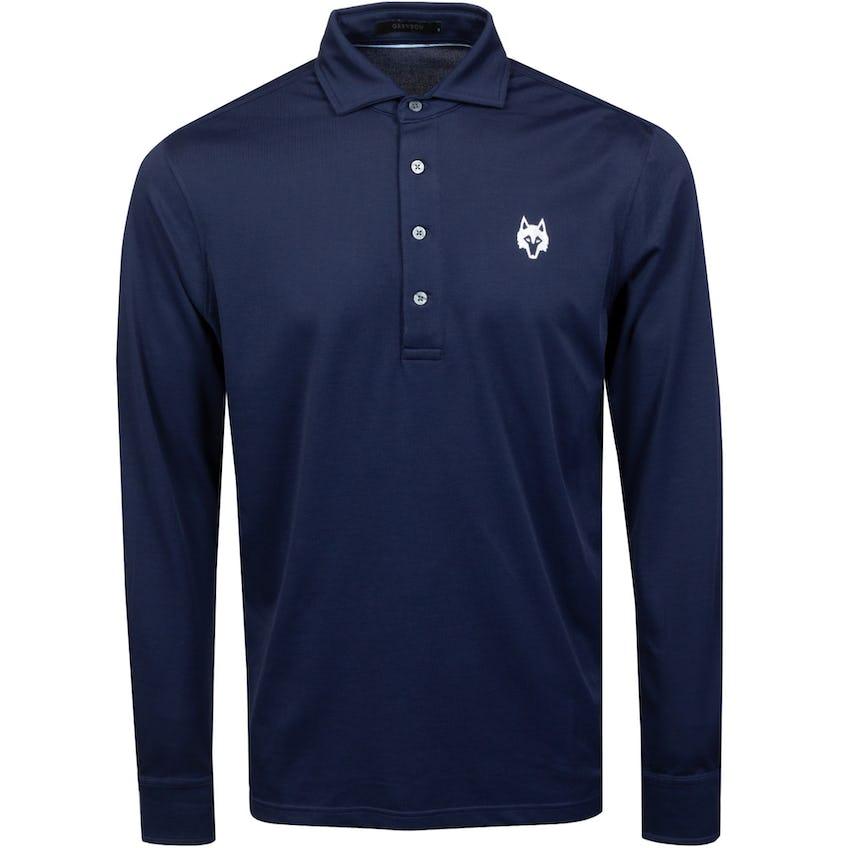 Omaha LS Polo Shirt Maltese 0