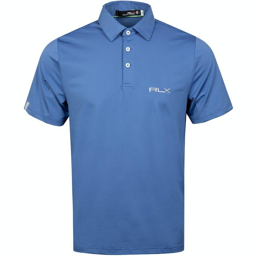RLX On Course Polo Shirt Bastille Blue 0