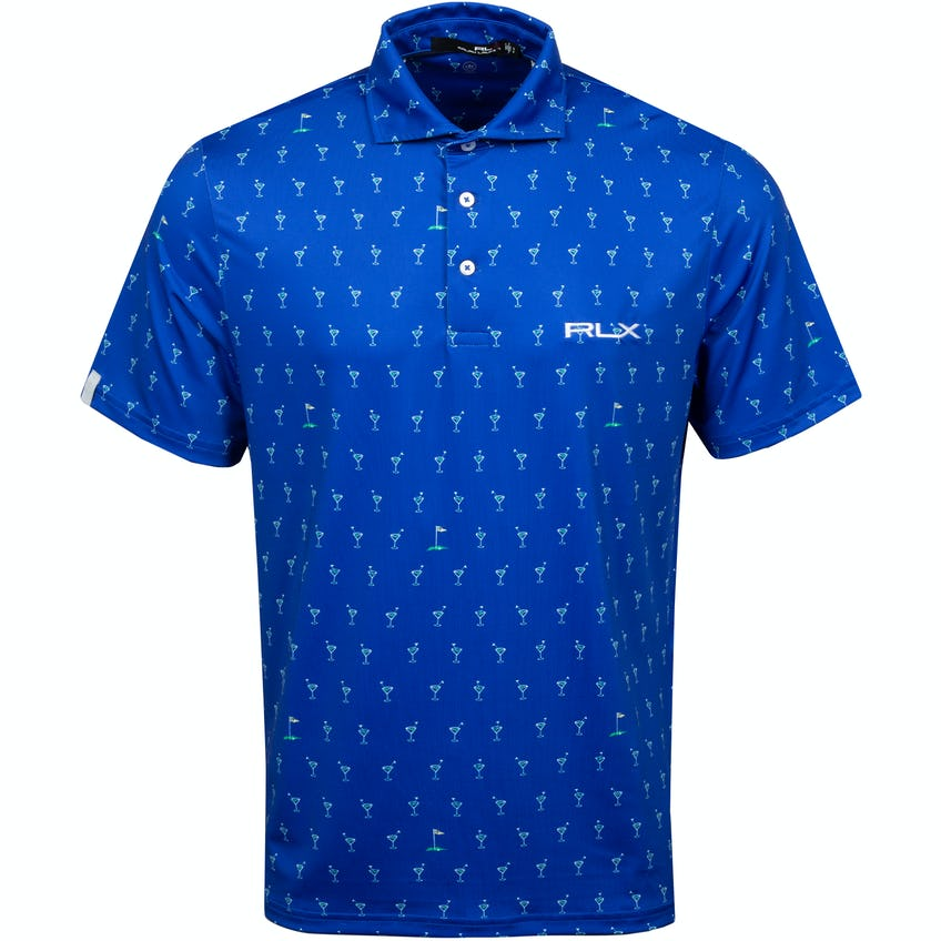 Printed Lightweight Airflow Polo Links and Drinks 0