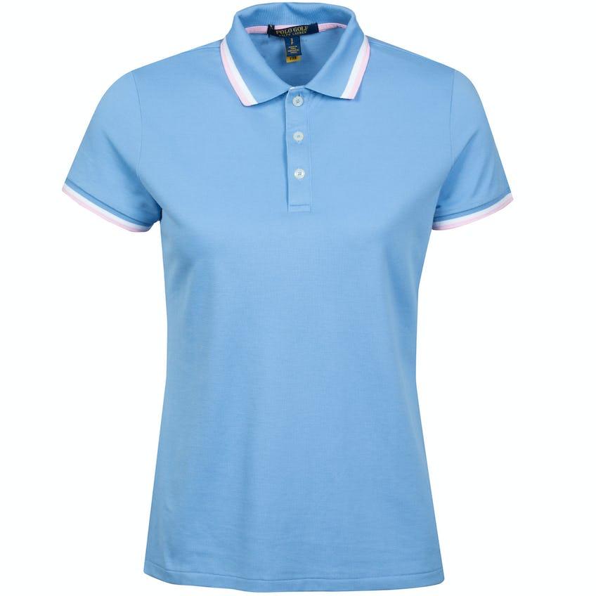 Womens Val Polo Shirt Blue Lagoon 0
