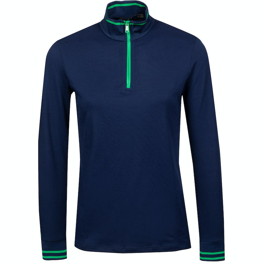 Womens Extreme Jersey Quarter Zip French Navy 0