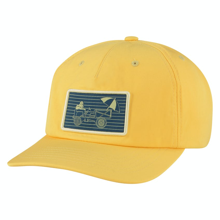 AP Man's Best Friend Snapback Cap Yellow Pear/Legion Blue 0