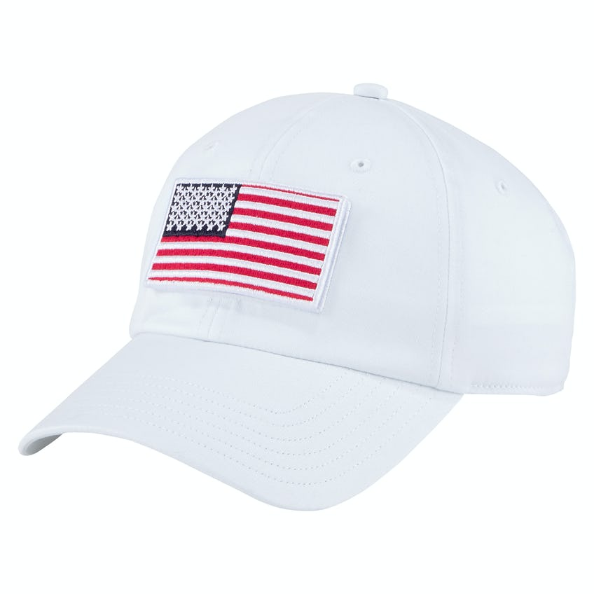 Volition Tactical Patch Snapback Cap Bright White 0