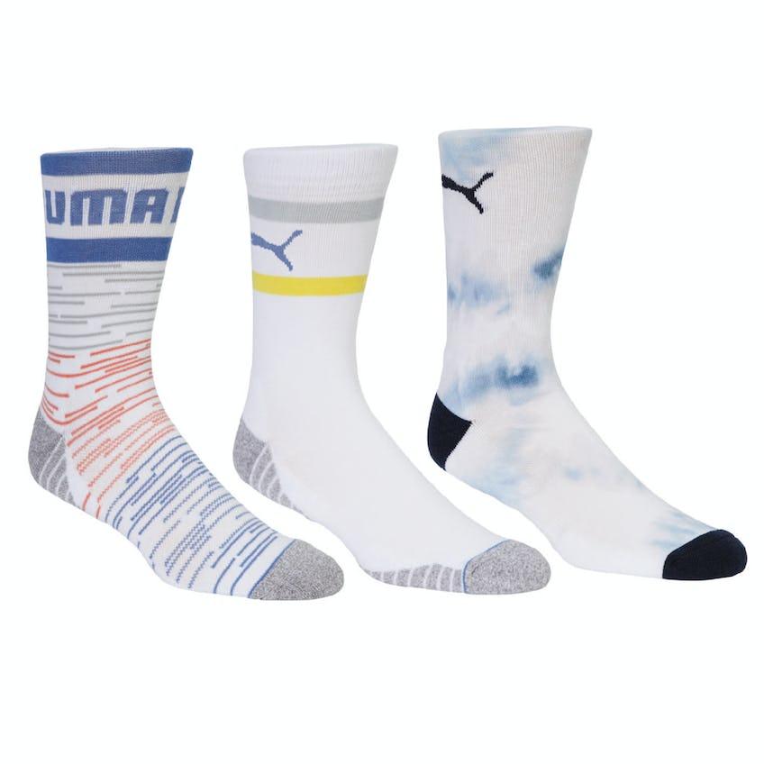 Fusion Crew Sock 3 Pack Multi 0