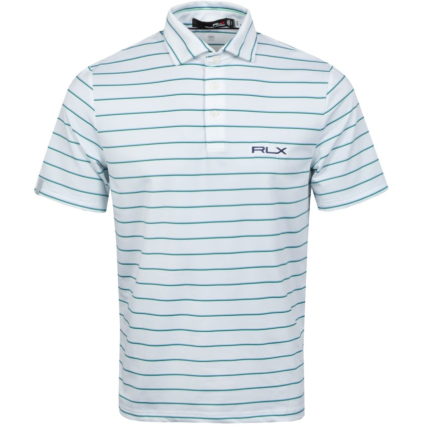 Lightweight Airflow Polo Course Green Multi 0