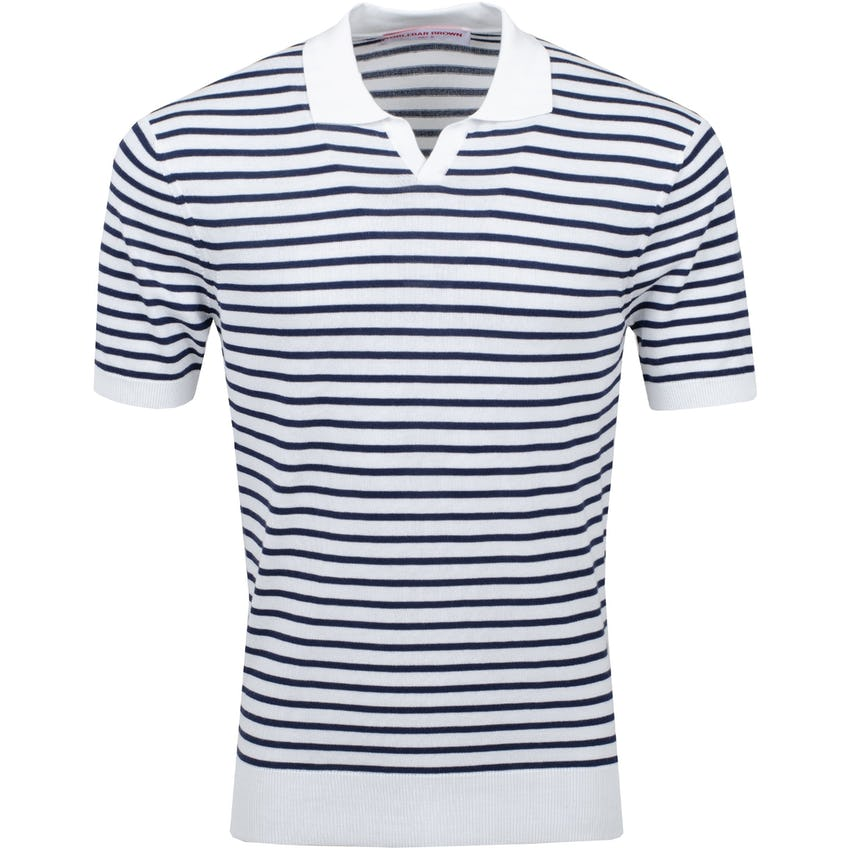 Holman Stripe Polo Navy/Cloud 0