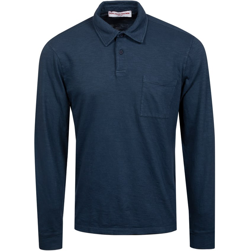 Fitzgerald Classic Fit Long-Sleeve Polo Navy 0