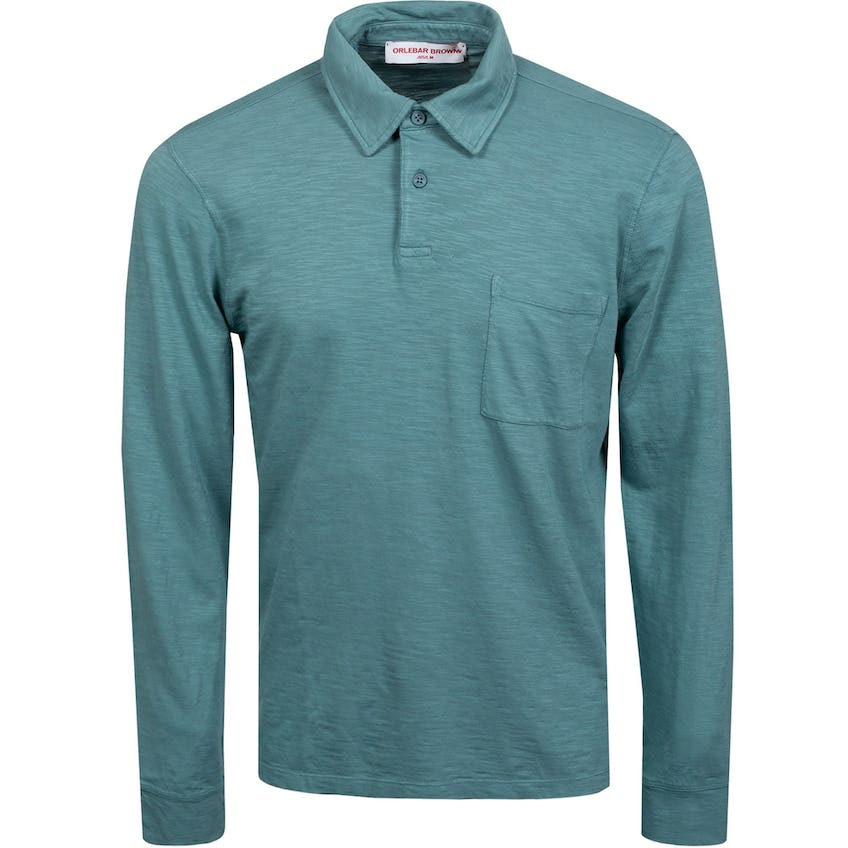 Fitzgerald Classic Fit Long-Sleeve Polo Sage 0