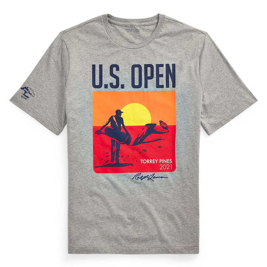 U.S. Open Sunset Graphic T-Shirt Heather Grey 0