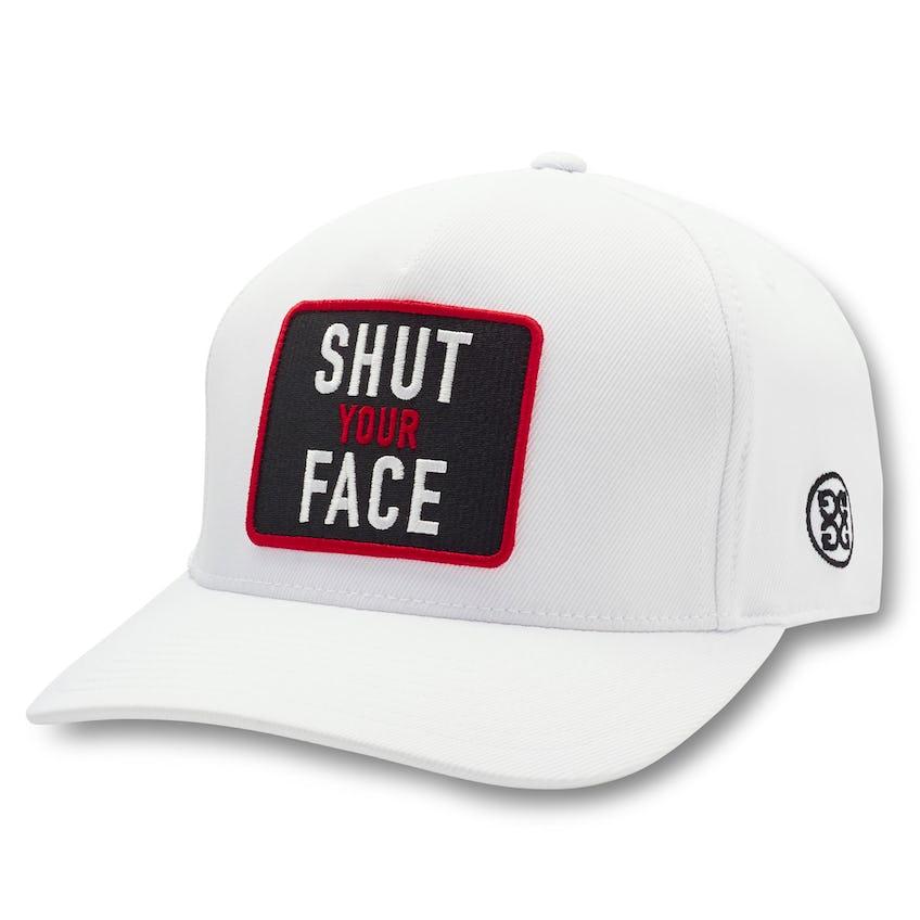 Shut Your Face Snapback Snow 0