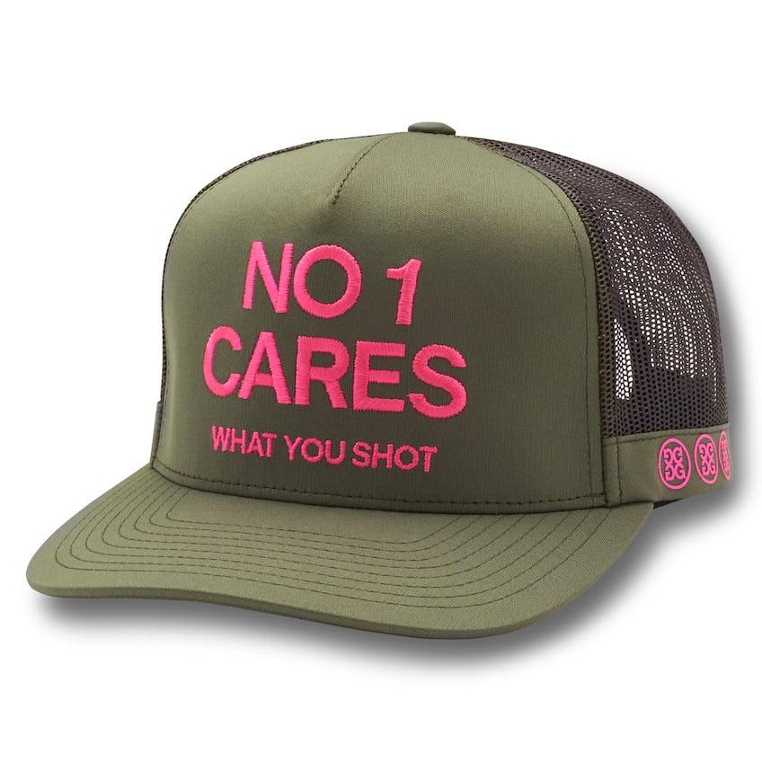 No 1 Cares Trucker Olive 0
