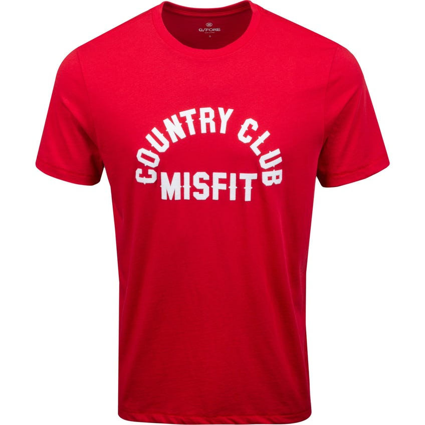 Country Club Misfit Tee Cherry 0