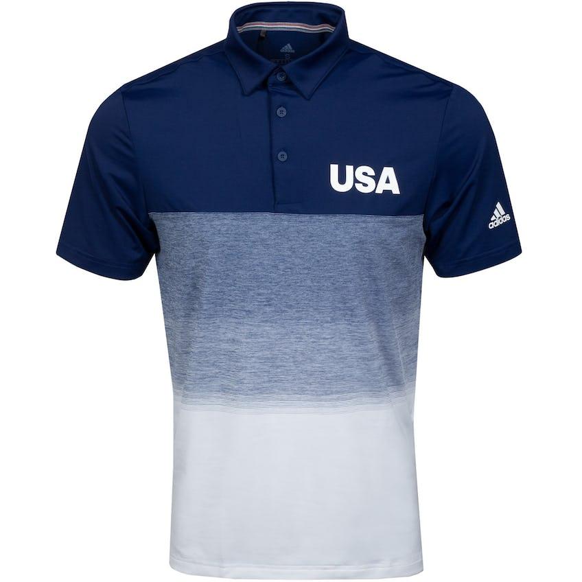 USA Olympic Golf Polo Navy 0