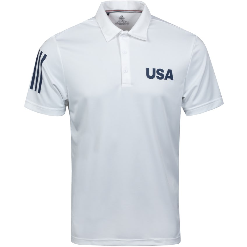 USA Olympic Golf Polo White 0